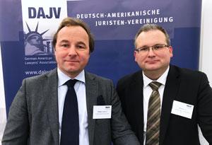 Адвокат Филлипп фон Равен с заместителем руководителя подразделения Юргеном Зайтелем