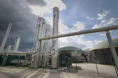 Kommunaler Betrieb mit Biogas