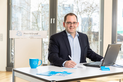 Gregor Weil - Geschäftsführer von Haus & Grund Frankfurt e.V.